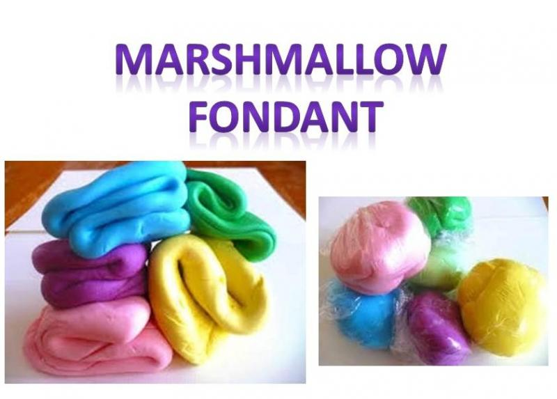 a Picture of Marshmallow Fondant