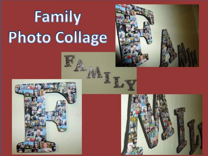 Craft Home And Garden Ideas Family Photo Collage